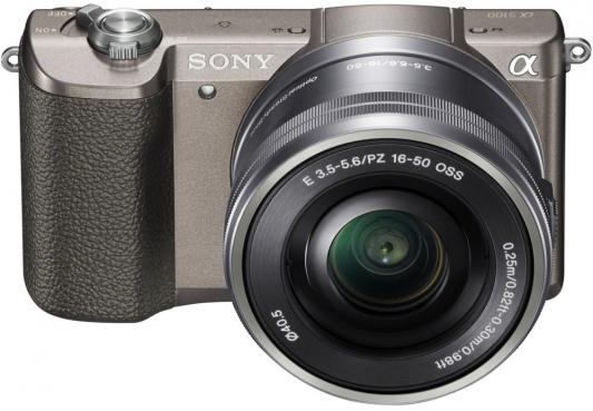 Фотоаппарат Sony Alpha A5100 24.3Mp бронзовый ILCE-5100LT