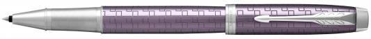 Ручка-роллер Parker IM Premium T324 Dark Violet CT черный F 1931639