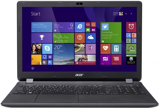Acer Extensa EX2519-C08K  [NX.EFAER.050] black 15.6 HD Cel N3060/2Gb/500Gb/DVDRW/Linux ноутбук acer extensa ex2519 c08k nx efaer 050 nx efaer 050