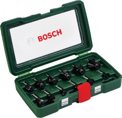 Набор фрез по дереву Bosch 12 НМ-SET 2607019466