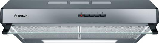 Вытяжка подвесная Bosch DUL63CC50 серебристый вытяжка подвесная bosch dul63cc50 серебристый