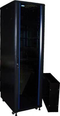 Шкаф напольный 42U Lanmaster TWT-CBA-42U-8X10-00 800x1000mm черный