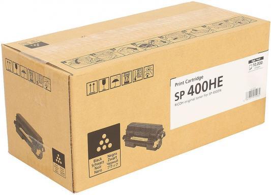Картридж Ricoh SP 400HE для SP450DN черный 10000стр 408060 тонер картридж ricoh sp 400he