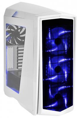все цены на  Корпус ATX SilverStone Primera Без БП белый SST-PM01W-RGB  онлайн