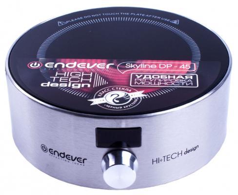 Электроплитка ENDEVER Skyline DP-45 серебристый плита электрическая endever dp 45