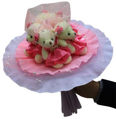 """Набор для творчества COLOR KIT """"Букет из 5 мягких игрушек"""" - Розовые фантазии от 3 лет 5MP"""