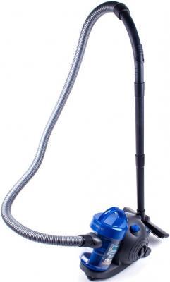 Пылесос ENDEVER VC-500 сухая уборка серый синий #24063. пылесос, endever