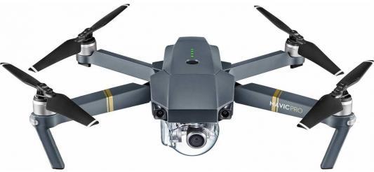 Радиоуправляемый квадрокоптер DJI Mavic Pro Fly More Combo +2 доп. аккумулятора + 2 пары складных пр