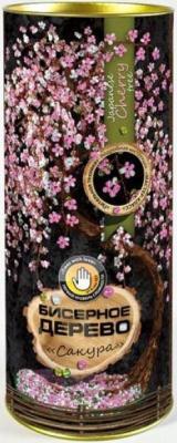 Набор для творчества ДАНКО-ТОЙС бисерное дерево Сакура от 10 лет БД-02