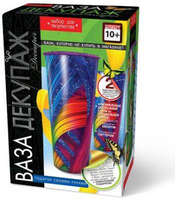 Набор для творчества ДАНКО-ТОЙС Ваза-Декупаж ВД-01 от 10 лет набор для творчества данко тойс my color clutch пони от 5 лет