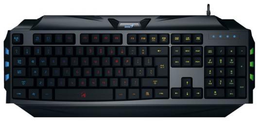 Клавиатура проводная Genius Scorpion K5 USB черный