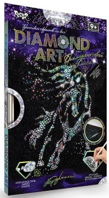 Купить Набор для изготовления картин ДАНКО-ТОЙС Diamond Сова DAR-01-02 от 9 лет, Ассорти наборов для творчества