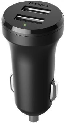 Автомобильное зарядное устройство SONY AN-430 microUSB 2.4А черный