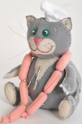 Набор для создания игрушки Перловка Кот обжора от 5 лет ПФЗД-1004 bmw серии детские игрушки автомобиля детские игрушки
