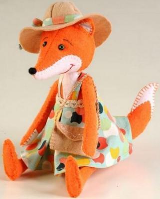 Набор для создания игрушки Перловка Модная Алиса от 6 лет ПФЗД-1008 набор для создания игрушки перловка счастливый ёжик от 6 лет пфзд 1005