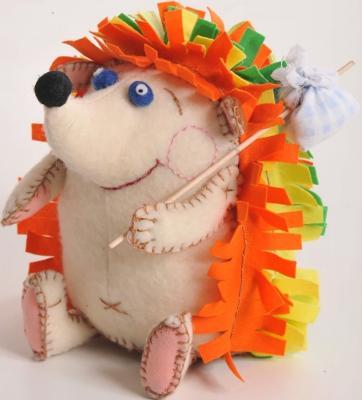 Набор для создания игрушки Перловка Счастливый Ёжик от 6 лет ПФЗД-1005