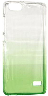 Крышка задняя IQ Format для Huawei 4C зеленый 4627104426503 бампер силиконовый iq format дисней лукас микки 1 4627104422352