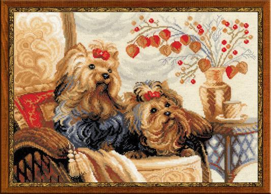 Набор для вышивания Riolis Сотвори сама - Домашние любимцы от 8 лет 1248 набор для вышивания сотвори сама бантик от 7 лет