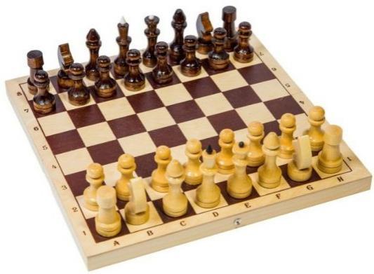 Настольная игра Шахматы обиходные парафинированные дерев.Р-4