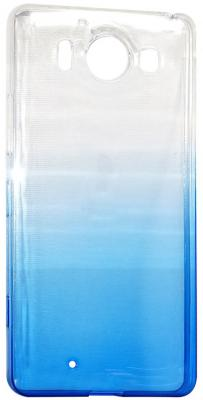 Крышка задняя IQ Format для Nokia 950 синий 4627104426251 iq format крышка задняя для nokia 950 силикон