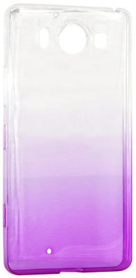 Крышка задняя IQ Format для Nokia 950 фиолетовый 4627104426176 iq format крышка задняя для nokia 950 силикон