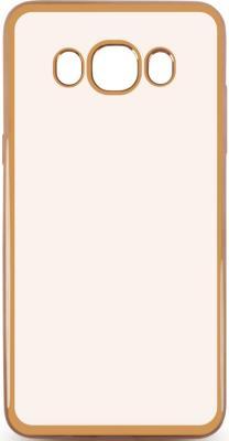 Чехол силиконовый DF sCase-30 с рамкой для Samsung Galaxy J7 2016 золотистый чехол epik двухслойный ударопрочный с защитными бортами экрана verge для j710f galaxy j7 2016