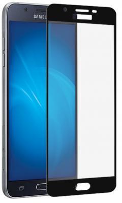Закаленное стекло DF sColor-20 для Samsung Galaxy J3 2017 с рамкой черный
