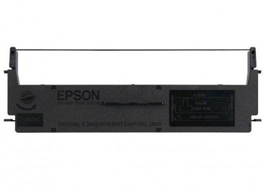 Картридж Epson C13S015624BA для Epson LQ-50 черный принтер струйный epson l312