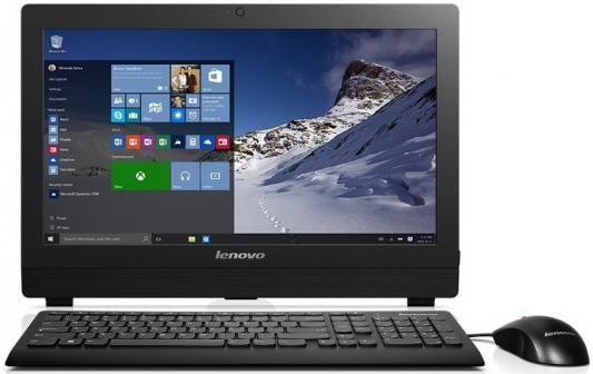 "Моноблок 19.5"" Lenovo S200z 1600 x 900 Intel Pentium-J3710 4Gb SSD 128 Intel HD Graphics 405 DOS черный 10K4003PRU"