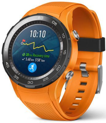Смарт-часы Huawei 2 Sport LTE LEO-DLXX оранжевый 55021932