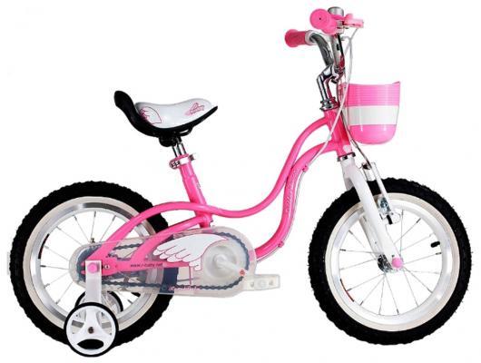 Велосипед — Little Swan 18 розовый
