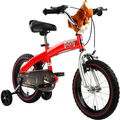 Велосипед Royal baby Pony (2 в 1) RB14B-4 14 красный