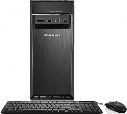 Системный блок Lenovo IdeaCentre 300-20IBR J3060 1.6GHz 2Gb 1Tb Intel HD Win10 черный 90DN003QRS