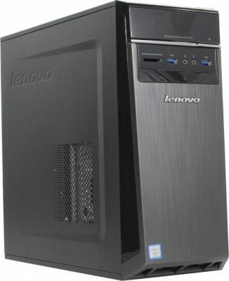 Системный блок Lenovo H50-55 A10-8750 3.6GHz 8Gb 1Tb 8Gb SSD R7 350-2Gb DVD-RW Win10 черный 90BG004FRS