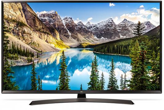 Телевизор LG 43UJ634V черный пылесос lg vc53202nhtr