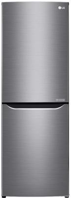 Холодильник LG GA-B389SMCZ серебристый холодильник lg ga b389smcz silver