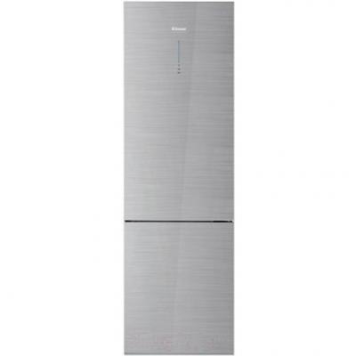 Холодильник DAEWOO RNV3610GCHS серебристый холодильник daewoo fgk51efg двухкамерный серебристый