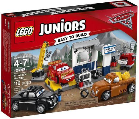 Конструктор LEGO Гараж Смоуки 10743 116 элементов книга lego lego 978 5 699 78042 6 книга поймай шпиона с мини набором