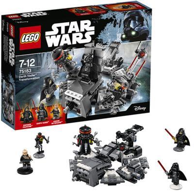 Конструктор LEGO Star Wars - Превращение в Дарта Вейдера 282 элемента