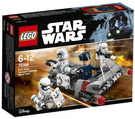 Конструктор LEGO Star Wars: Спидер Первого ордена 117 элементов lego star wars 75166 лего звездные войны спидер первого ордена