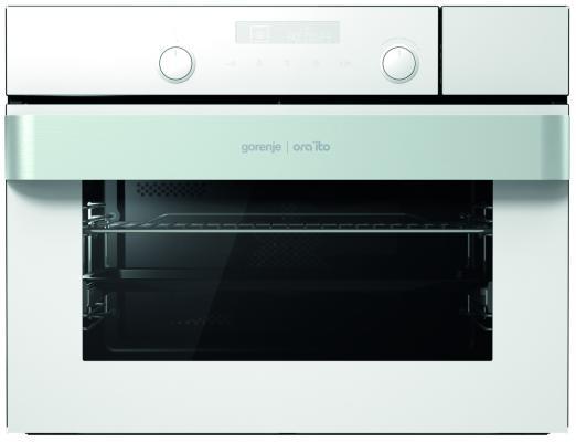 Электрический шкаф Gorenje BCS547ORAW белый электрический духовой шкаф gorenje bcs547oraw белый bcs547oraw