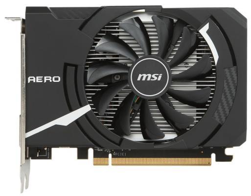 Видеокарта MSI Radeon RX 560 RX 560 AERO ITX 4G OC PCI-E 4096Mb 128 Bit Retail
