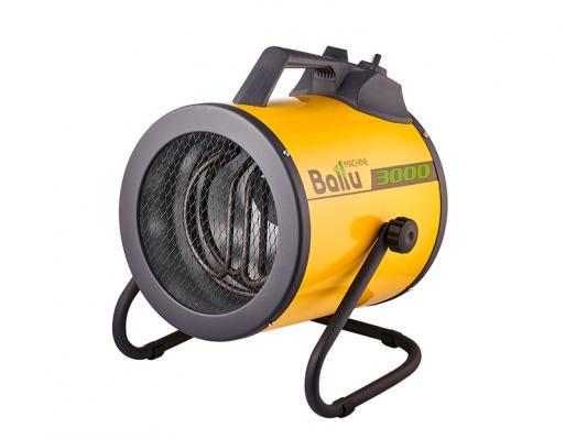 Тепловая пушка BALLU BHP-P2-3 3000 Вт термостат ручка для переноски вентилятор желтый тепловая пушка ballu bhp pe 2 2000 вт ручка для переноски желтый