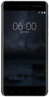 Смартфон NOKIA 6 Dual sim 32 Гб черный (11PLEB01A15)