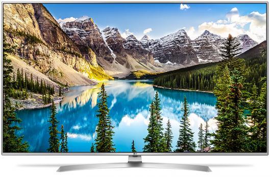 Телевизор LG 65UJ675V серебристый пылесос lg vc53202nhtr