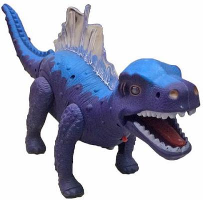 """Интерактивная игрушка Shantou Gepai """"Динозавр"""" (свет, звук) от 3 лет фиолетовый 635656"""