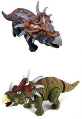 """Интерактивная игрушка Shantou Gepai """"Динозавр"""" - Трицератопс от 3 лет разноцветный 635658"""