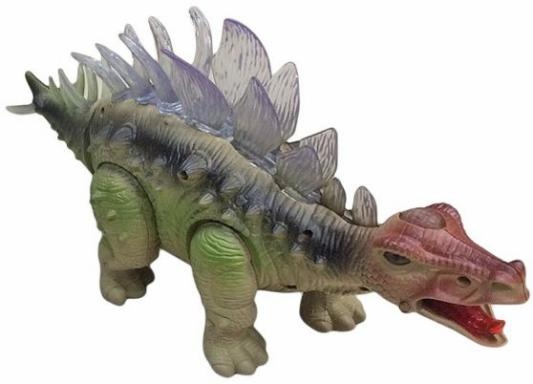Интерактивная игрушка Shantou Gepai Динозавр - Стегозавр (свет, звук) в ассортименте от 3 лет зелёный 635660 интерактивная игрушка shantou gepai динозавр от 3 лет бежевый rs6125