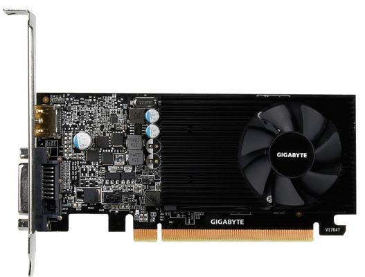 Видеокарта 2048Mb Gigabyte GeForce GT1030 PCI-E DDR5 64bit DVI HDMI GV-N1030D5-2GL Retail