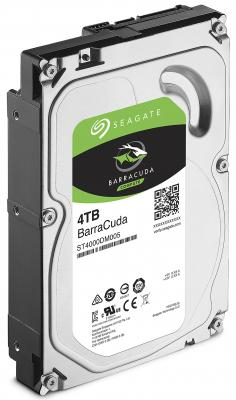 Жесткий диск 3.5 4Tb 5400rpm Seagate Barracuda SATAIII ST4000DM004 жесткий диск 4tb seagate barracuda st4000dm004